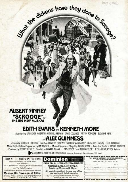 November 1970 Royal Premiere, 70MM print ad courtesy Patrick Hayward‎.