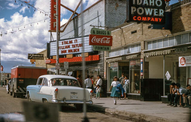 Circa 1955 photo courtesy Brian Hamilton.