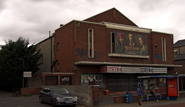 Former Kenilworth, later Classic, Cinema, Dublin now demolished.