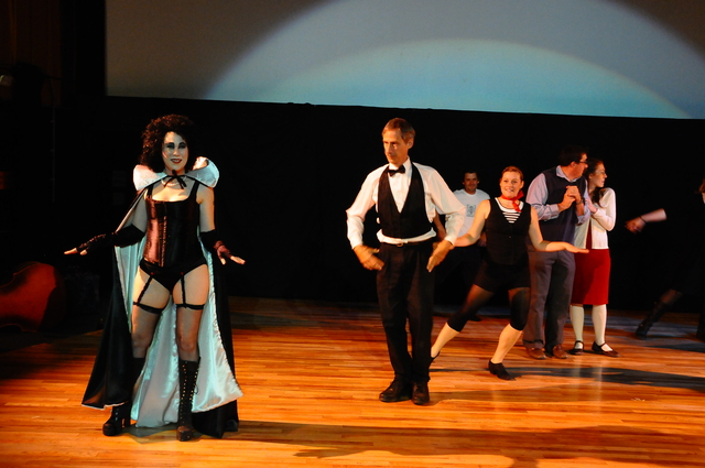 Time Warp dance performed Live at the Lewis, before Rocky Horror
