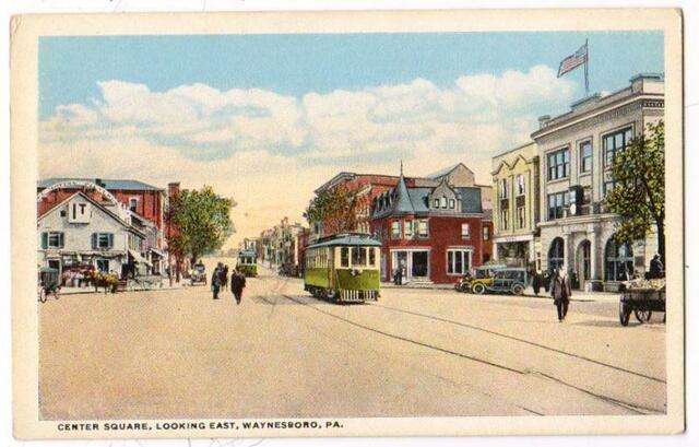 IT Theatre sign, Waynesboro PA, ca 1918