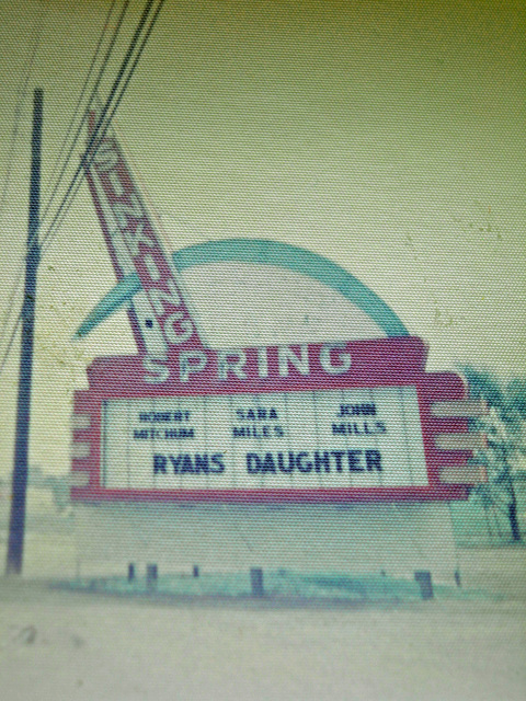 Sinking Spring Marquee (1971)