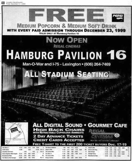 Regal Hamburg Pavilion Stadium 16 & RPX