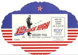 <p>12 O'Clock High World premiere ticket ROXY NYC</p>