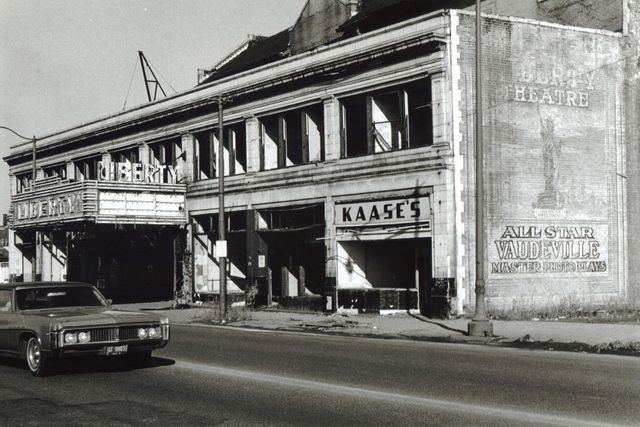 Liberty Theater, Cleveland 1973