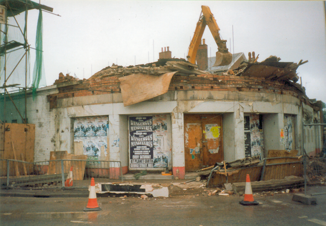 Regal, Beverley, during demolition in 1998