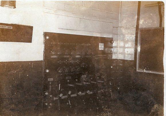Regal, Beverley, Lighting Switchboard 1973