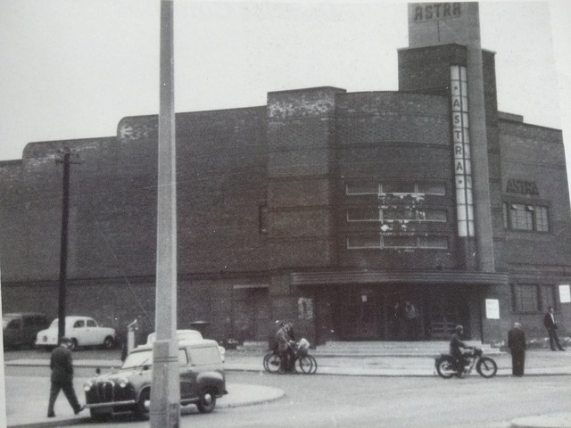Astra Cinema, Beckett Road, Doncaster, Early 1960's