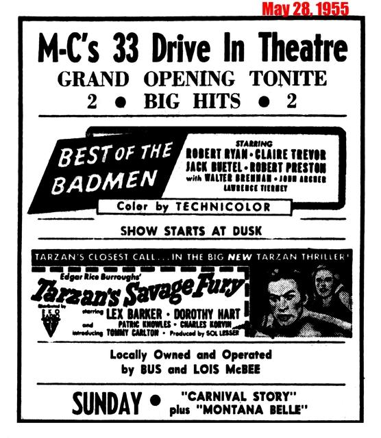 MC 33 Drive-In
