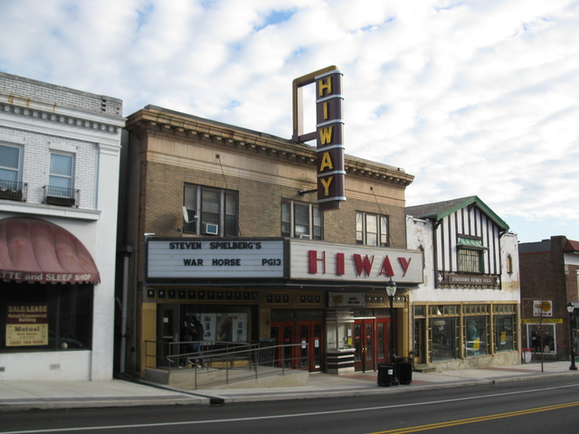 Hiway theater in jenkintown pa cinema treasures - Jersey gardens mall movie theater ...