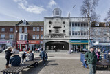 """[""""Old cinema super imposed on the \""""new\"""" building""""]"""