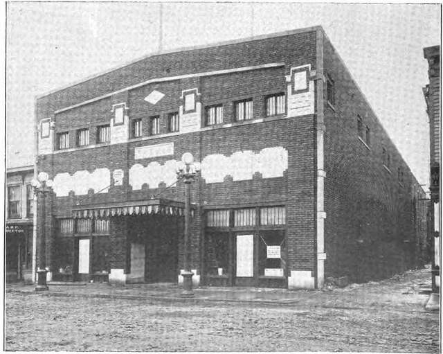 Thomas Theater circa 1910