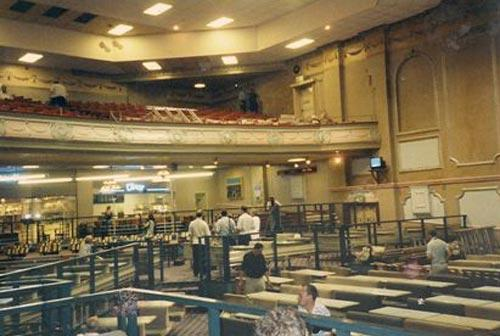Inside Regal Cinema, Gravesend during Bingo era