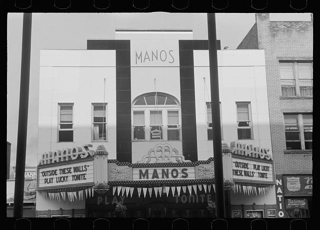Manos Theatre - Library of Congress photo