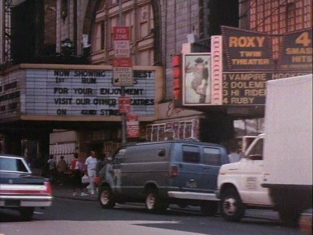 Roxy Twin Theaters in 1987