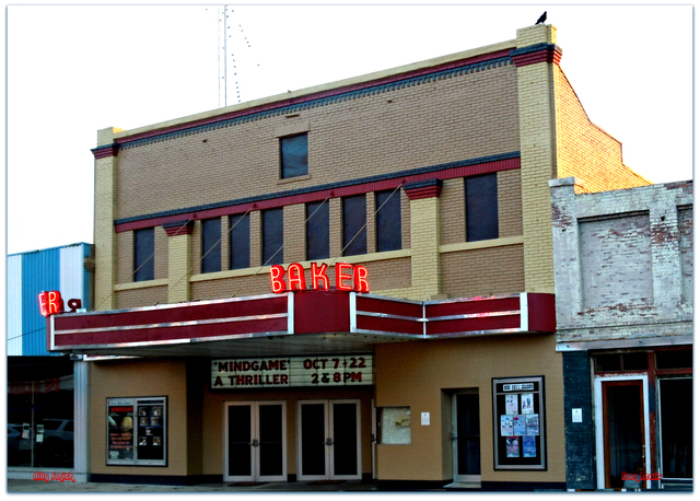 Baker Theater...Lockhart Texas