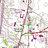 Saratoga Drive-In topo map, 1995