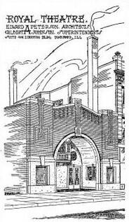 ROYAL Theatre; Rockford, Illinois.