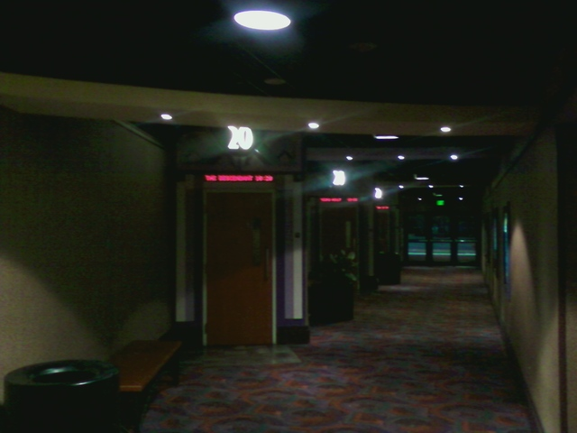 hallway for Theatres #19 to 22