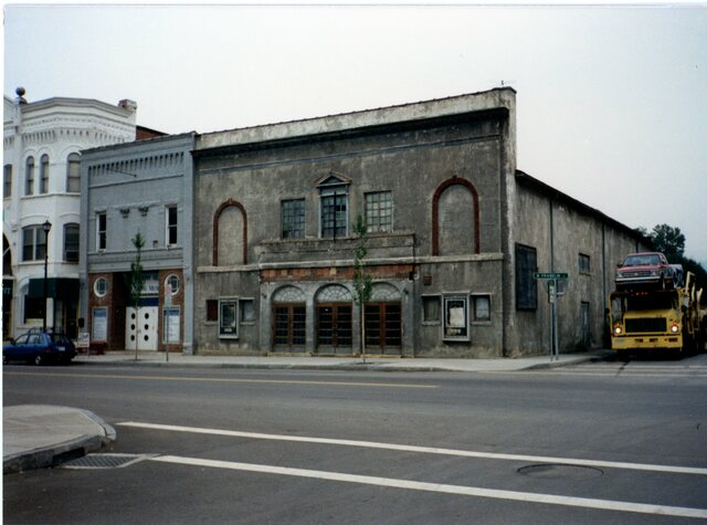 Watkins Theater before restoration late 1980s