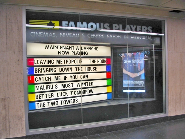 Famous Players Centre Eaton 6