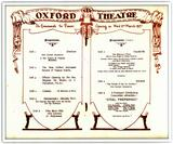 The New Oxford Theatre 155 Oxford Street, Leederville, WA  - Opening night program March 2, 1927