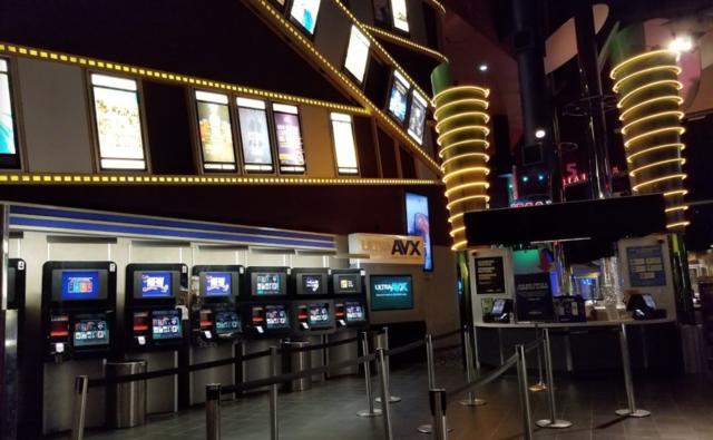 Box office area