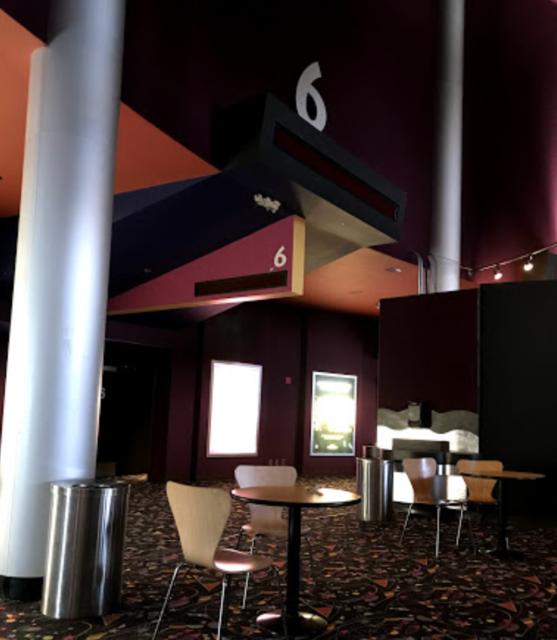 Cinema #6 and upper lobby area