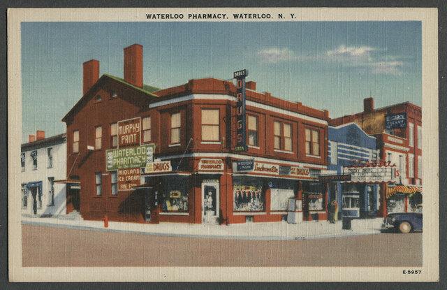 c.1941 State Theatre Linen Postcard