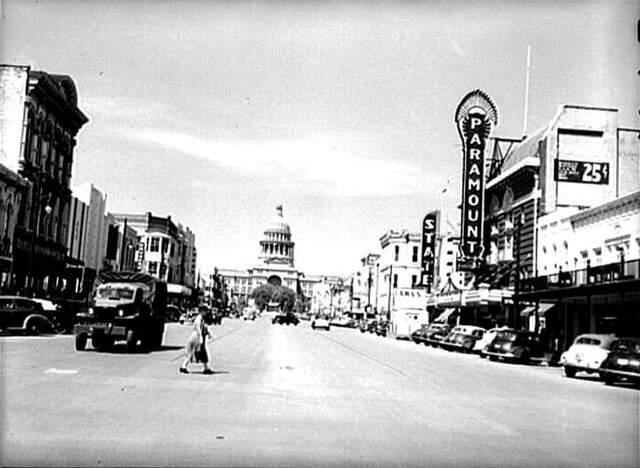 PARAMOUNT Theatre; Austin, Texas.