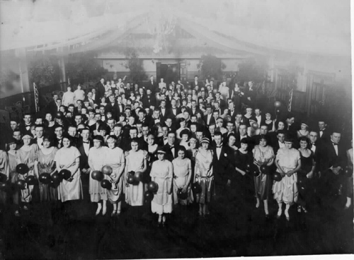 Federal Picture Company  55 Nicholson Street, Footscray, VIC  - Citizen's Ball 1925