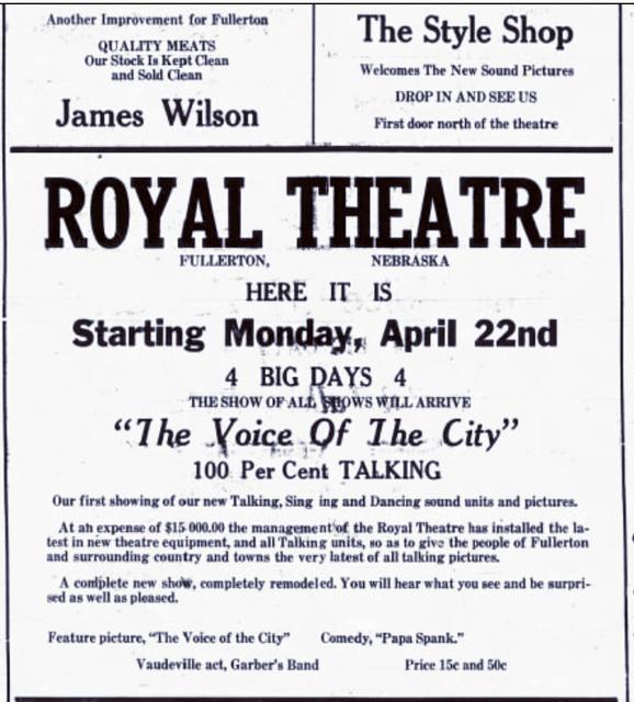 Nance Theatre
