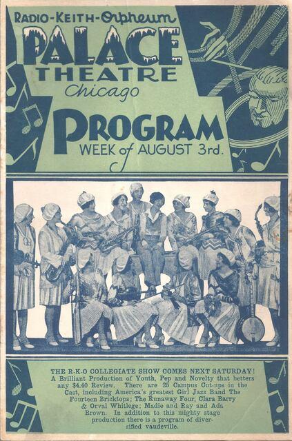 1929 program image courtesy Marc Friend.