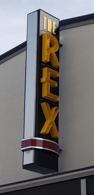Rex Theatre Marquee - 2019
