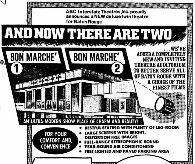 Bon Marche Twin Cinema