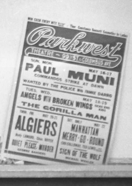 Park West Advertisement