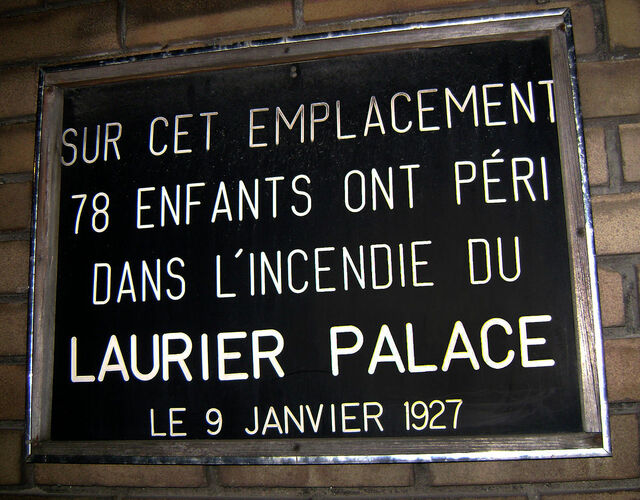 Laurier Palace Theatre
