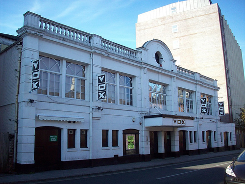 "The Palace as ""Vox Nightclub"""