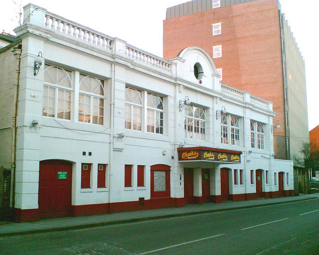 "The Palace as ""Cheeks Nightclub"""
