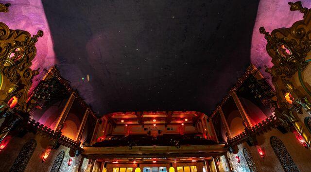 House Ceiling- Smith Opera House