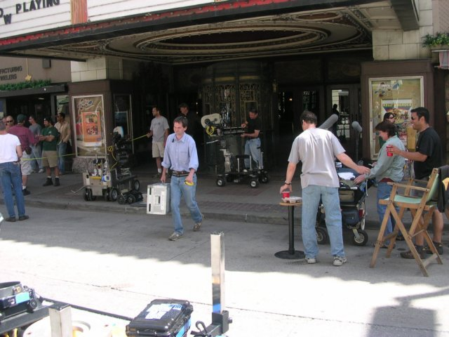 Exterior During WB shoot