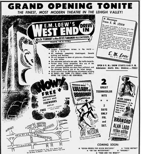 1954 Opening