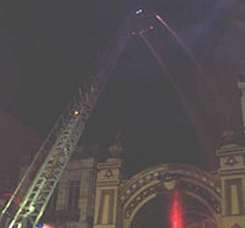 Columbia Theatre fire