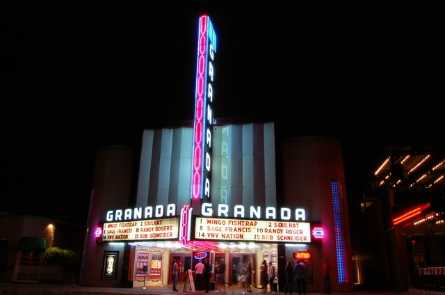 Granada Theatre - Dallas Tx - Lower Greenville Ave
