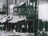 UPTOWN Theatre, Racine WI, about 1948.