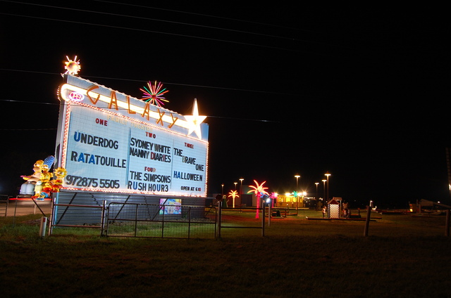 Galaxy Drive In Theatre - Garrett (Ennis) Tx Open! 