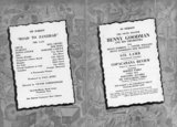 Program April 9, 1941