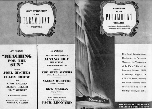 Program April 9, 1941 pgs. 1, 4