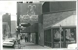 Carnegie lower marquee behind Sweetwater sign and above awning. 1980 photo credit Historic Images.