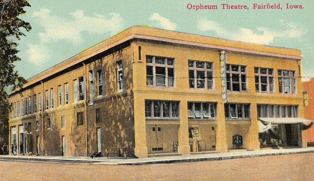 Orpheum - Fairfield, IA